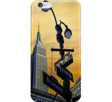 Midtown Sunset iPhone Case/Skin