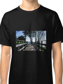Bridge At Langmoor-Lister Gardens Classic T-Shirt