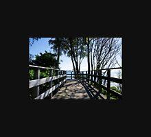 Bridge At Langmoor-Lister Gardens Unisex T-Shirt