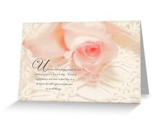 Understand that people ..... Greeting Card
