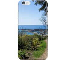 Gardens Overview - Lyme Regis iPhone Case/Skin