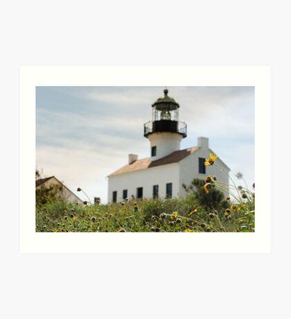 Historic Lighthouse Art Print