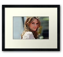 STANA KATIC PHONE CASES AND MORE! Framed Print