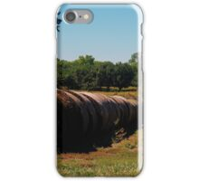 Hayrolls and Trees  iPhone Case/Skin