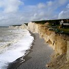 Birling Gap Landslip by mikebov