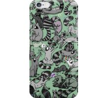 Raccoon Party iPhone Case/Skin