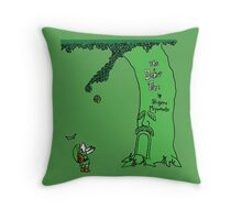 The Deku Tree Throw Pillow