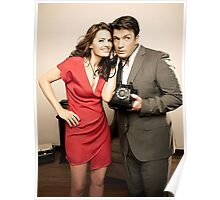 STANA AND NATHAN PHONE CASES AND MORE Poster
