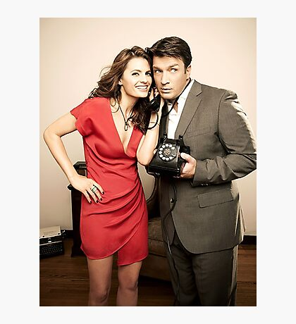 STANA AND NATHAN PHONE CASES AND MORE Photographic Print