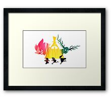 """""""Over The Gravity Falls Universe"""" Framed Print"""