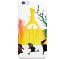 """""""Over The Gravity Falls Universe"""" iPhone Case/Skin"""