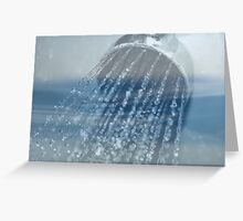Water 2 Layers Greeting Card