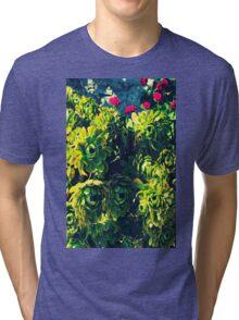 Green with Envy Tri-blend T-Shirt