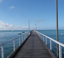 Beachport Jetty, Limestone Coast, South Australia. by Rita Blom