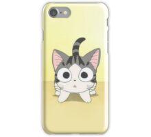 cute cartoon kitten iPhone Case/Skin