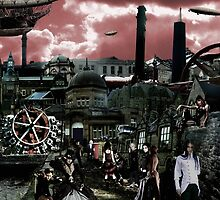 Steam Punk World by Paul-Cringle