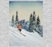 Skiing - The Clear Leader One Piece - Long Sleeve