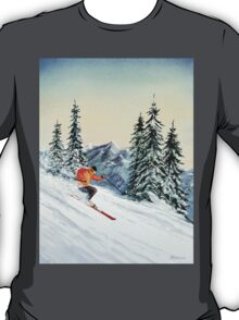 Skiing - The Clear Leader T-Shirt