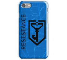 Ingress Resistance Logo on Map iPhone Case/Skin