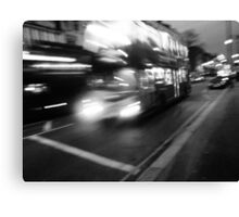London Rush Canvas Print