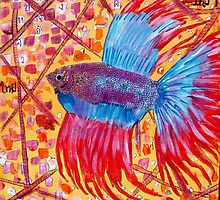 Siamese Fighting fish by Harry60