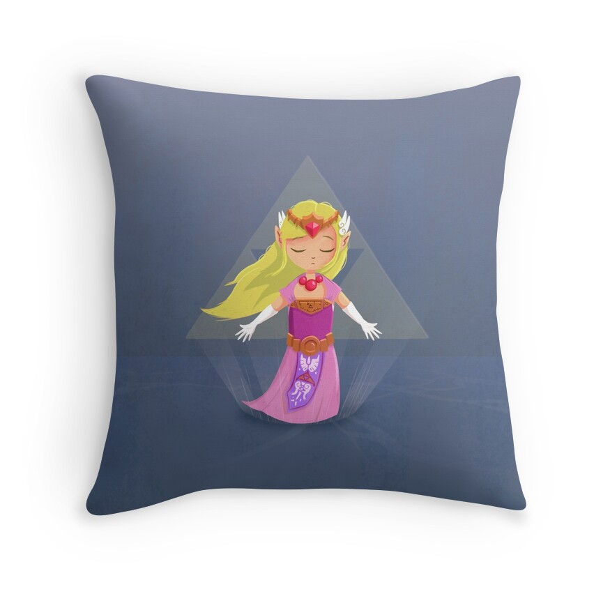 Zelda - Windwaker Throw Pillows by kevinrob Redbubble