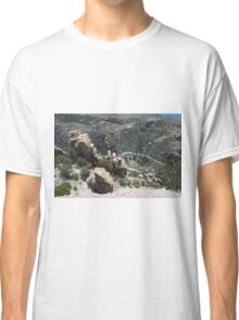 Mountains, Rocks and Sky Classic T-Shirt