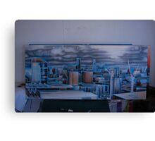 Overcast Melbourne Canvas Print