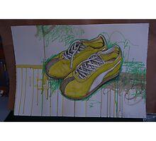 Puma sneakers Photographic Print