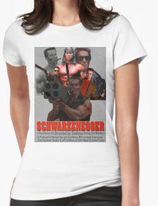 Arnold Schwarzenegger Womens Fitted T-Shirt
