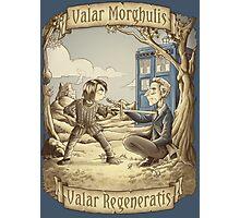 Valar Regeneratis Photographic Print
