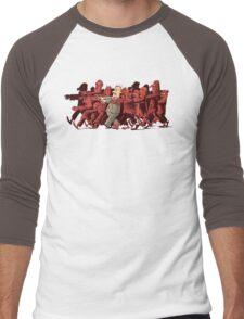 zombies!!! Men's Baseball ¾ T-Shirt