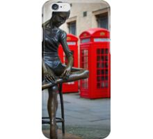 The Ballerina of Covent Garden in London, England iPhone Case/Skin
