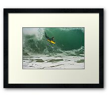 Dont Bother Me I'm Happy Framed Print