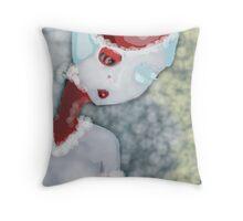 Santa or the Crumpus? Throw Pillow