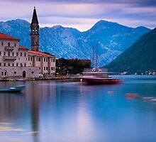 Church in Perast, Montenegro by Yen Baet