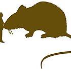 Pet huge rat  by SofiaYoushi