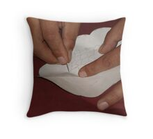 Concentration 2 Throw Pillow