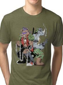 Rocksteady & Bebop Tri-blend T-Shirt