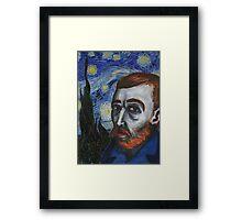 Van Gogh Portrait Framed Print