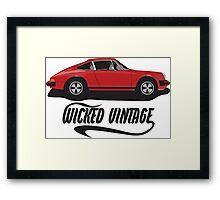 1973 Porsche 911 Framed Print