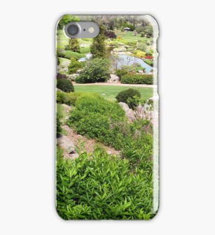 Japanese Gardens, Cowra iPhone Case/Skin