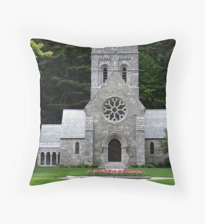 All Saints' Church Throw Pillow