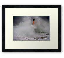 All Right Who Took My Board? Framed Print
