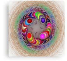 'Light Flame Abstract 300' Canvas Print