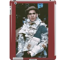 c : Man In newspapers ! collector  1997  1  (c)(h) by Olao-Olavia / Okaio Créations iPad Case/Skin