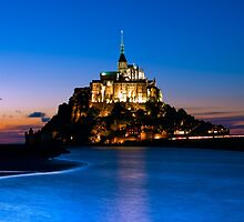 Mont Saint-Michel - Normandy, France by Yen Baet