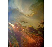 Aerial Great Salt Lake Photographic Print