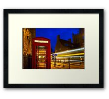 Red Phone Booth - Cambridge, England Framed Print