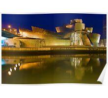 The Guggenheim Museum - Bilbao, Spain Poster
